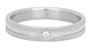 31ARF0lS5L 310x165 - iXXXi Füllring SANDGESTRAHLT ZIRKONIA silber weiß - 4 mm Größe Ringgröße 18